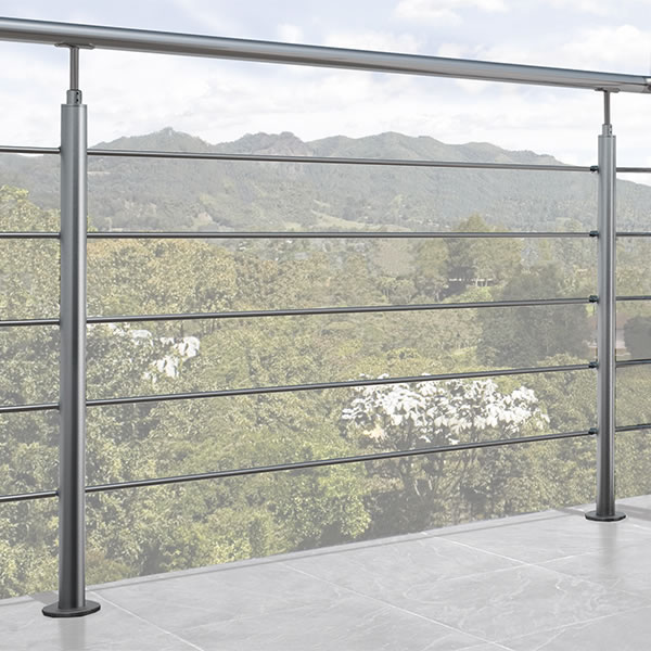 NIK railing by Arke Fontanot | Aluminium and Wood